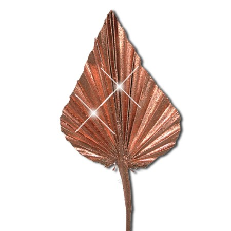 Palm Spear 'copper copper glitter'