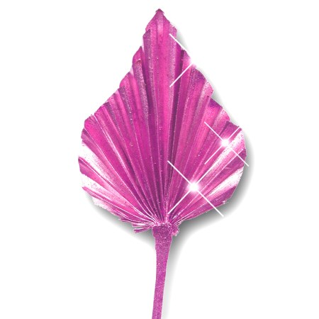 Palm Spear 'pink pink glitter'