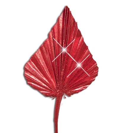 Palm Spear 'red red glitter'