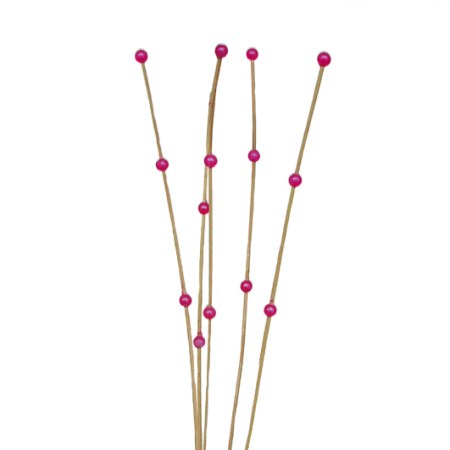 Ting ting 3 beads 'natural pink bead'