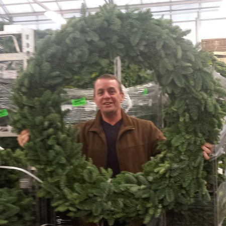 Noble Fir Wreath Large