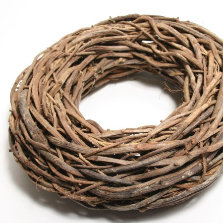 Rattan Wreath 'Natural' 65cm