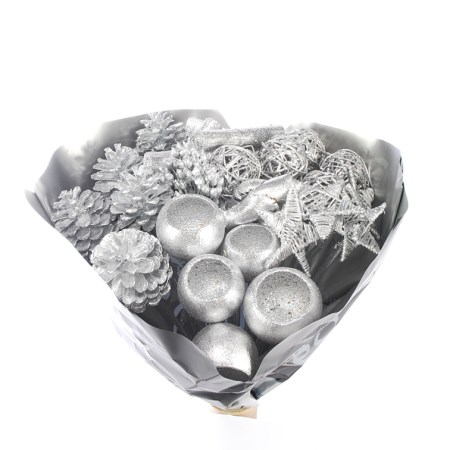 Mixed Pack 'Silver with silver glitter'