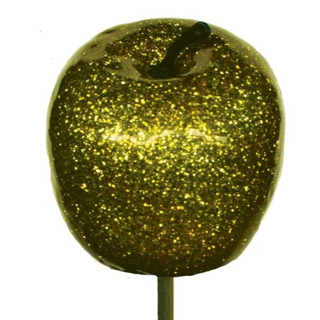 Apple Metallic 'Gold with gold glitter'